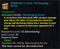 Pathfinder's Tome Discharging Arrow.png