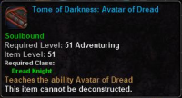 Tome of Darkness Avatar of Dread.png